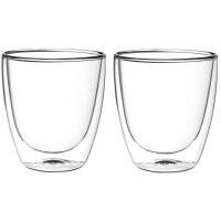 FilterLogic CFL-660B - 2er Set doppelwandige Cappuccino Gläser