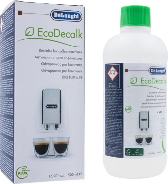 DeLonghi Entkalker EcoDecalk DLSC500 - 500 ml - umweltfreundlich + schonend