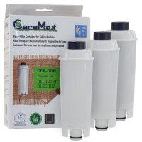 CareMax CCF-006 Wasserfilter 3er Pack für Solis Typ 1018 Grind & Infuse Compact kompatibel