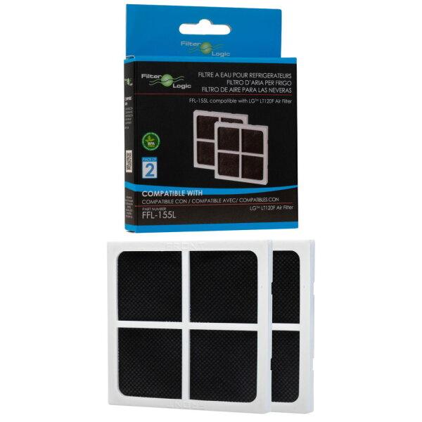 FilterLogic FFL-155L 2er Pack ersetzt LG Luftfilter / Air Filter